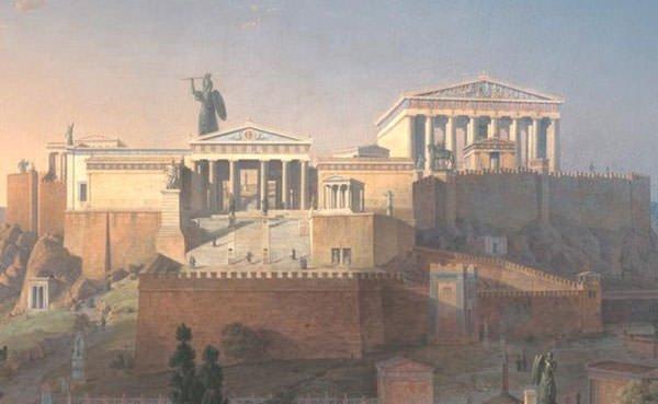 Acropolis with Athena Promachos