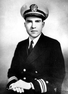 Lieutenant Commander Richard Nixon
