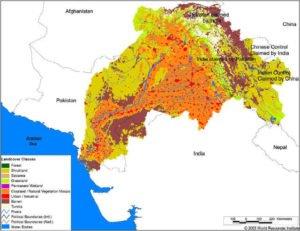 Indus River Basin map