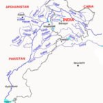 Major Tributaries of Indus