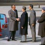 President Nixon and Zhou Enlai
