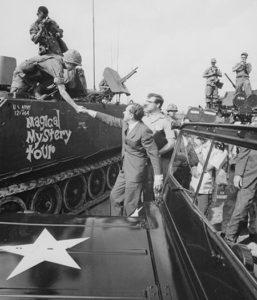President Nixon in South Vietnam