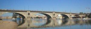 Reconstructed New London Bridge in Arizona