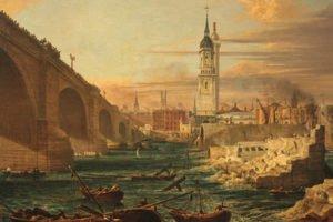 Demolition of Old London Bridge