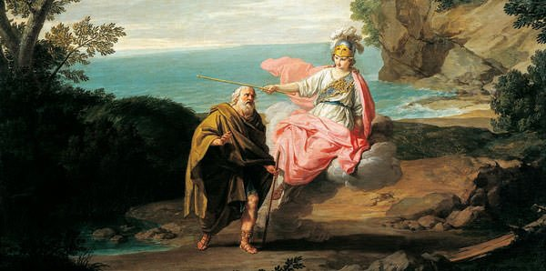 Ulysses and Athena