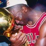 Michael Jordan 1991 NBA Trophy