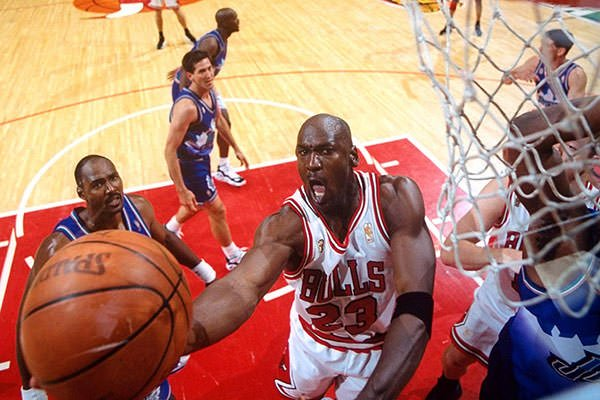Michael Jordan 1997 NBA Finals