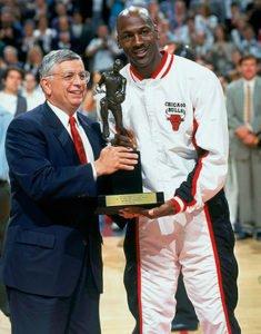 Michael Jordan 4th MVP Award
