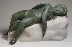 Sleeping Cupid - Michelangelo