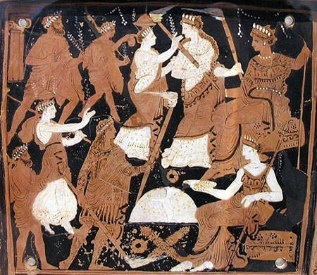 Depiction of Eleusinian Mysteries