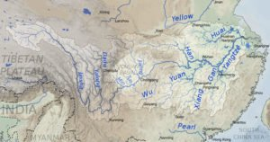 Yangtze River and its major tributaries