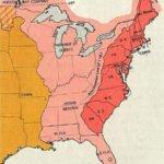 Eastern North America Map 1775