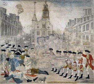 Portrayal of Boston Massacre