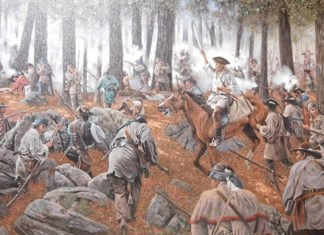American Revolution Battles Featured