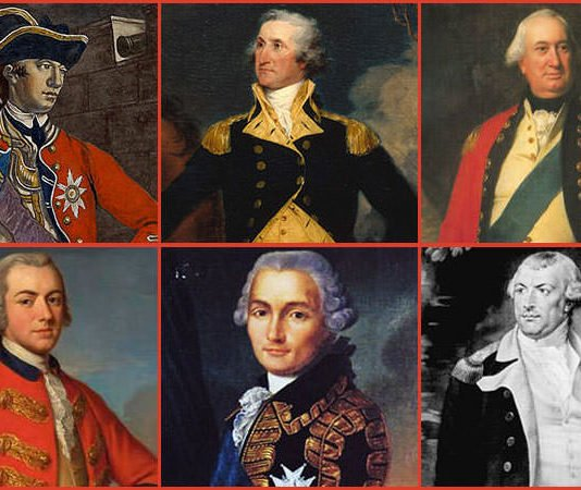 American Revolution Leaders Featured
