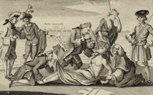 The Intolerable Acts cartoon