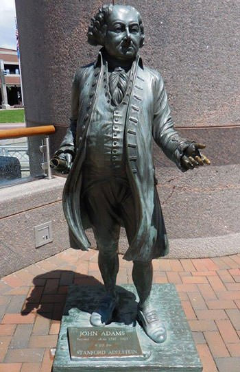 John Adams Statue in South Dakota
