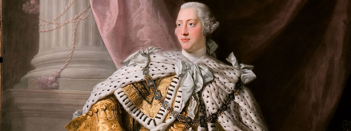 King George III American Revolution Featured