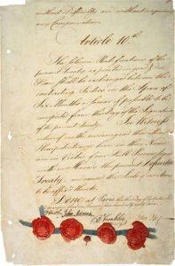 1783 Treaty of Paris