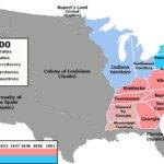US Slavery Map 1800