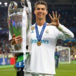 Cristiano Ronaldo 5th Champions League Trophy