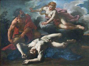 Diana over Orion's corpse (1685)