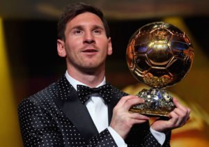 Lionel Messi 2012 FIFA Ballon d'Or