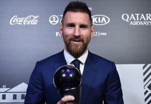 Lionel Messi Best FIFA Men's Player 2019