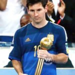 Lionel Messi Golden Ball 2014 FIFA World Cup
