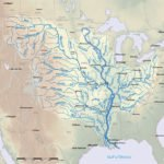 Mississippi River Basin map