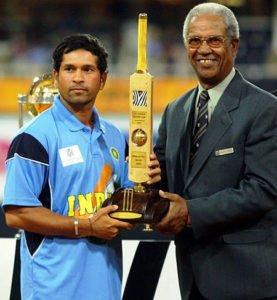 Tendulkar 2003 World Cup Man of the Series
