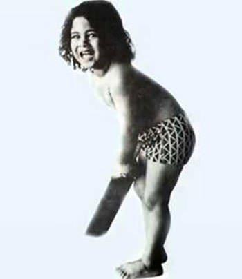 Sachin as a child
