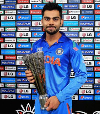 Kohli 2014 T20 World Cup Man of the Series