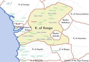 Kingdom of Kongo Map