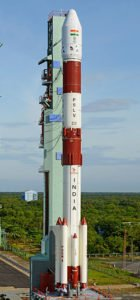 PSLV C35 at launch pad