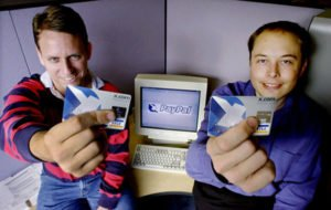 Peter Thiel and Elon Musk