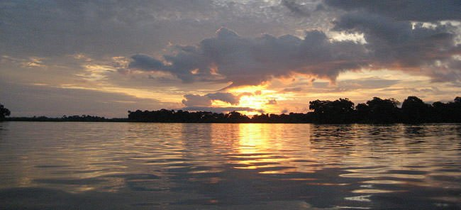 Congo River Sunrise