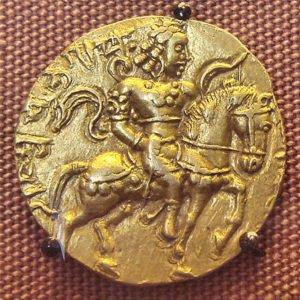 Chandragupta Vikramaditya gold coin
