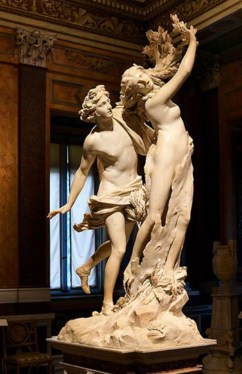 Apollo and Daphne (1625)