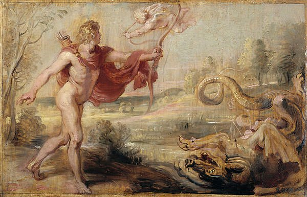 Apollo and the Python (1637)