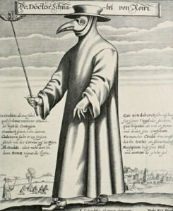 Black Death Plague Doctor