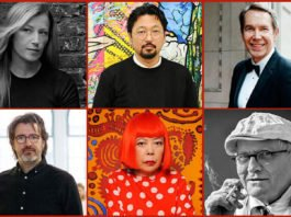 Famous Contemporary Artists Featured