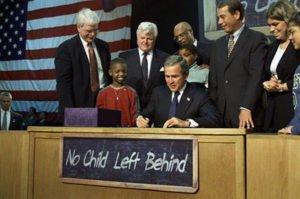 President Bush No Child Left Behind Act