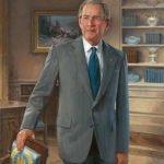George W Bush Presidential Portrait