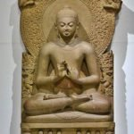 Seated Buddha - Gupta sculpture