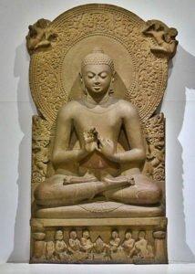 Seated Buddha - Gupta sculpture