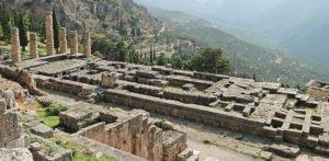 Temple of Apollo in Delphi