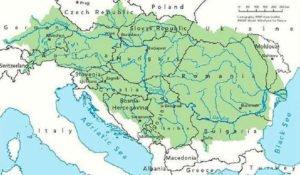 Danube River Basin Map