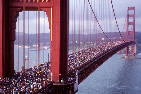50th Anniversary of Golden Gate Bridge