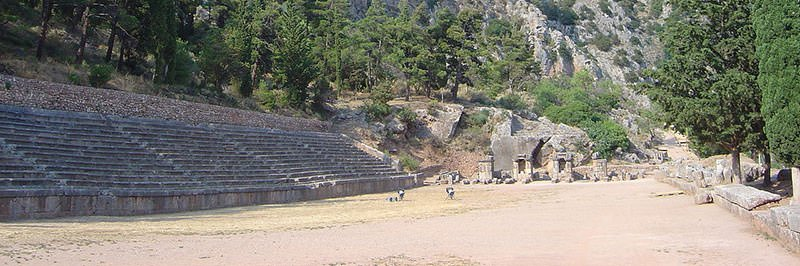 Pythian Games stadium